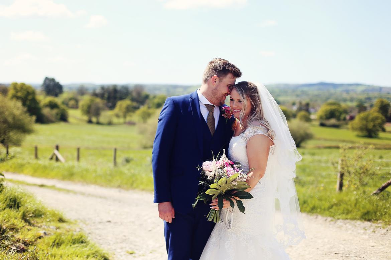 wedding caerhyn farm photographs