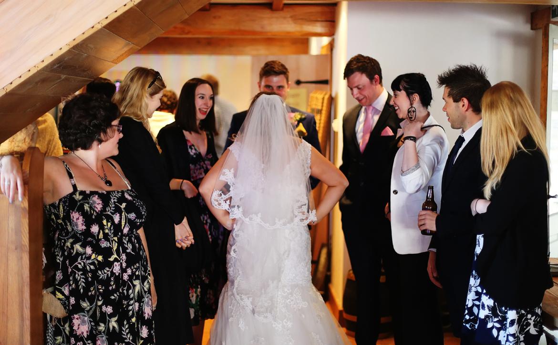 wedding reception caerhyn farm photos