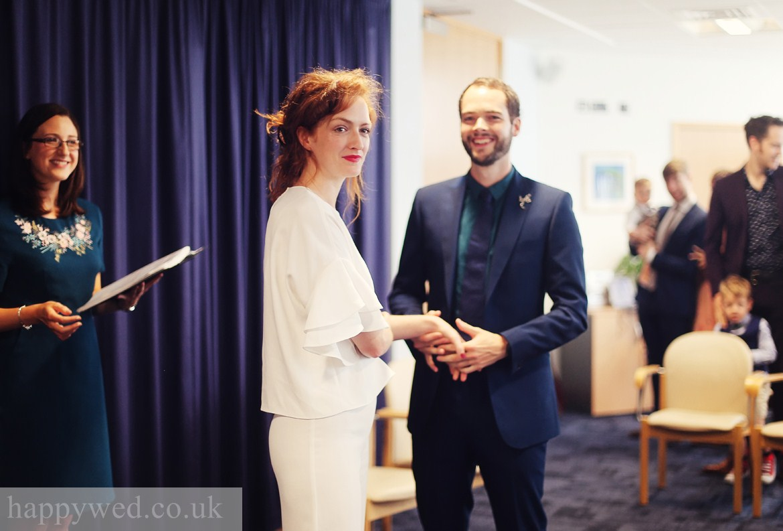 wedding photography at Ceredigion Register Office