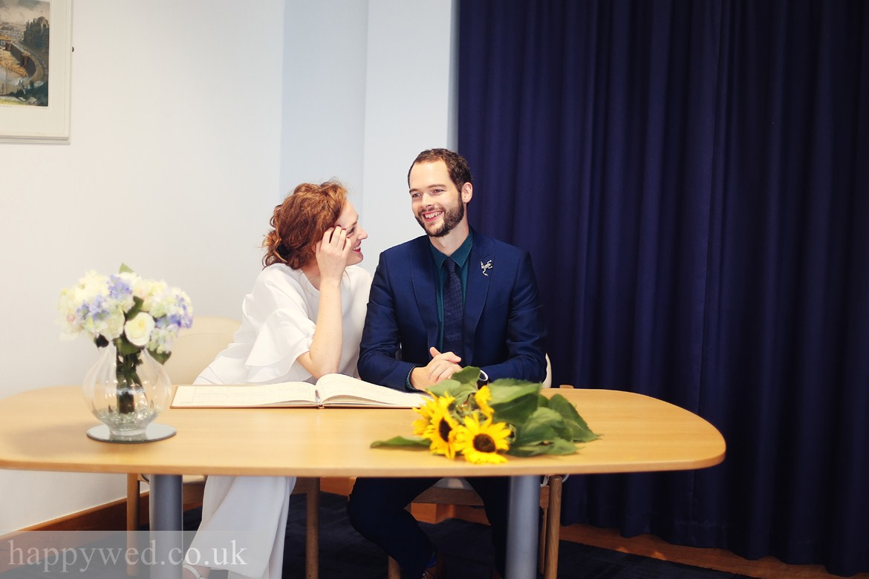 Ceredigion Register Office marriage ceremony photos