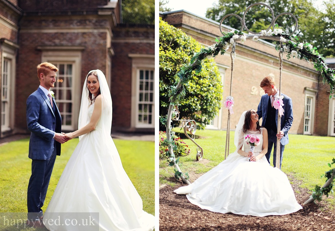wedding photography at de courceys manor cardiff