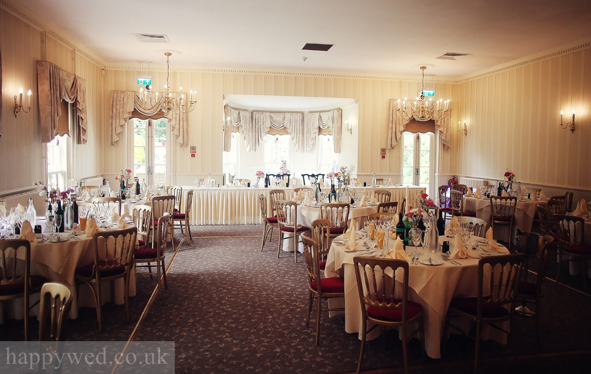 wedding reception at de courceys manor cardiff