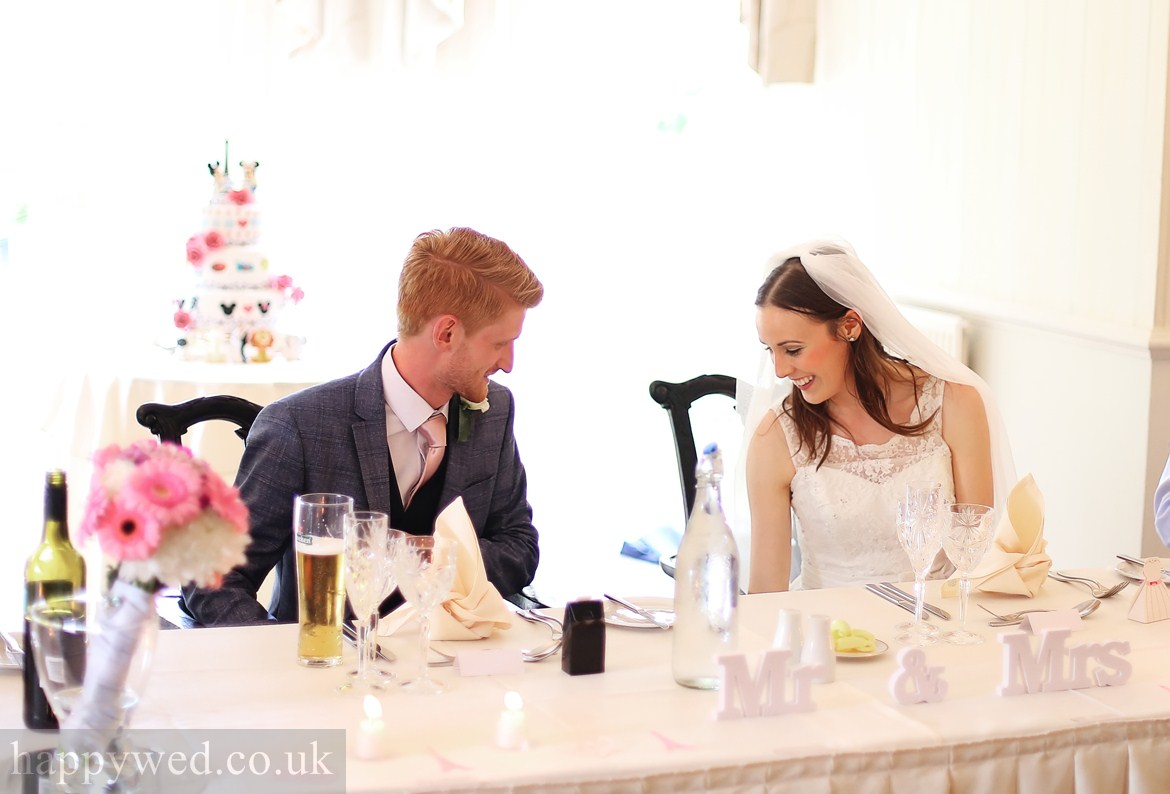 wedding reception at de courceys manor cardiff photography