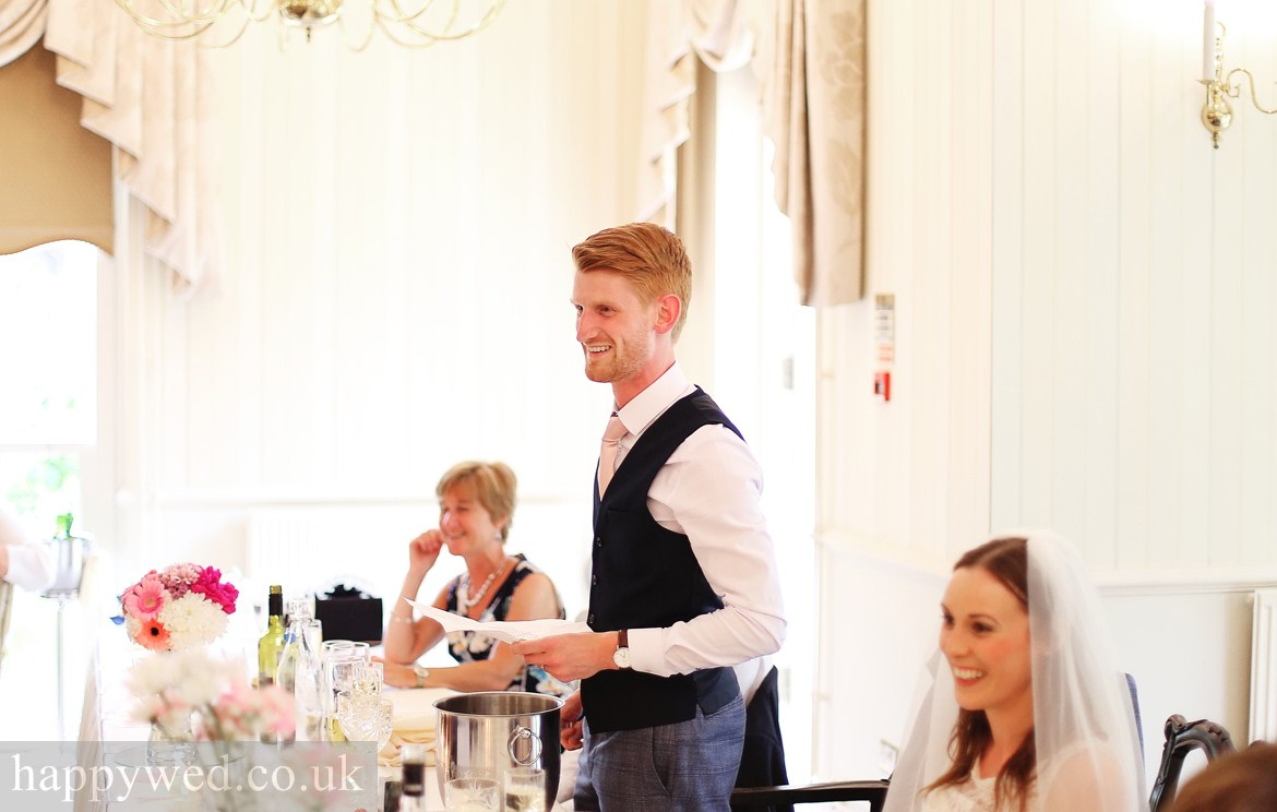 wedding breakfast de courceys manor cardiff photos
