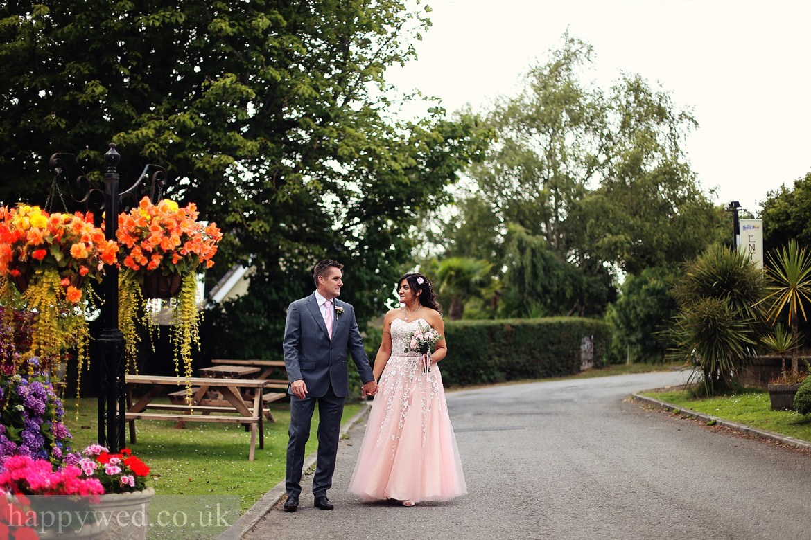 the old barn inn newport wedding photography