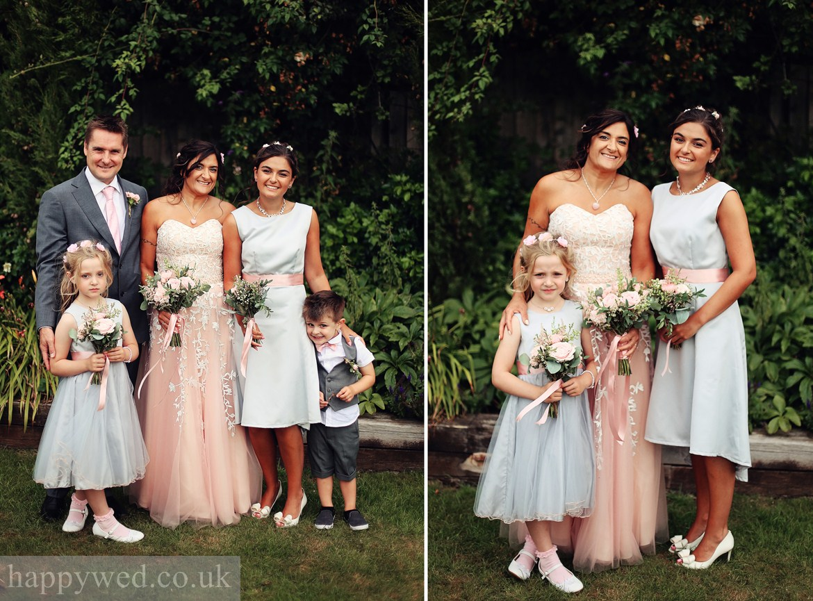 wedding photography at the old barn inn newport