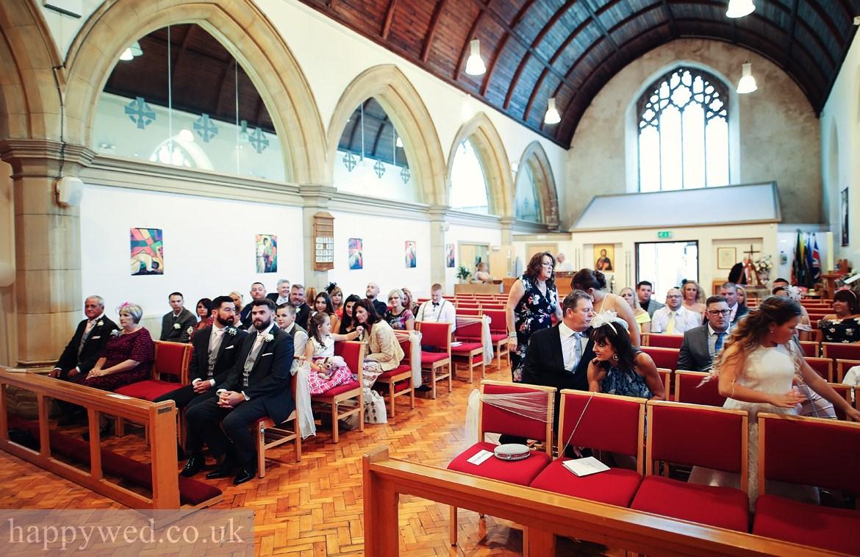 St Michael church Swansea wedding photography