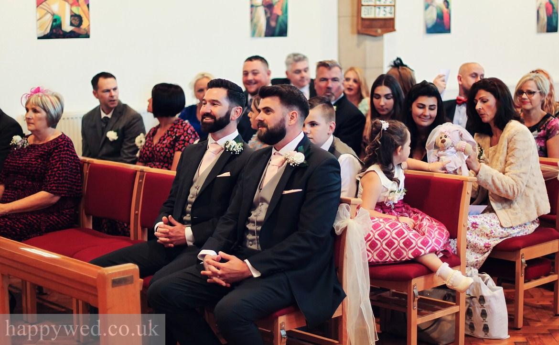 St Michael church Swansea wedding