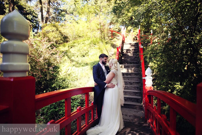 Clyne gardens Swansea wedding photos