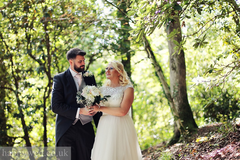Clyne gardens Swansea wedding photography