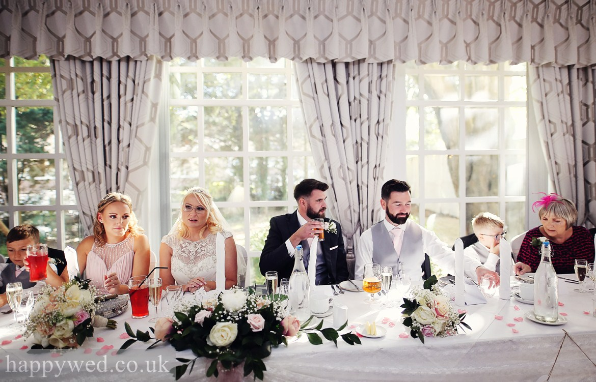 wedding photography at Norton House swansea