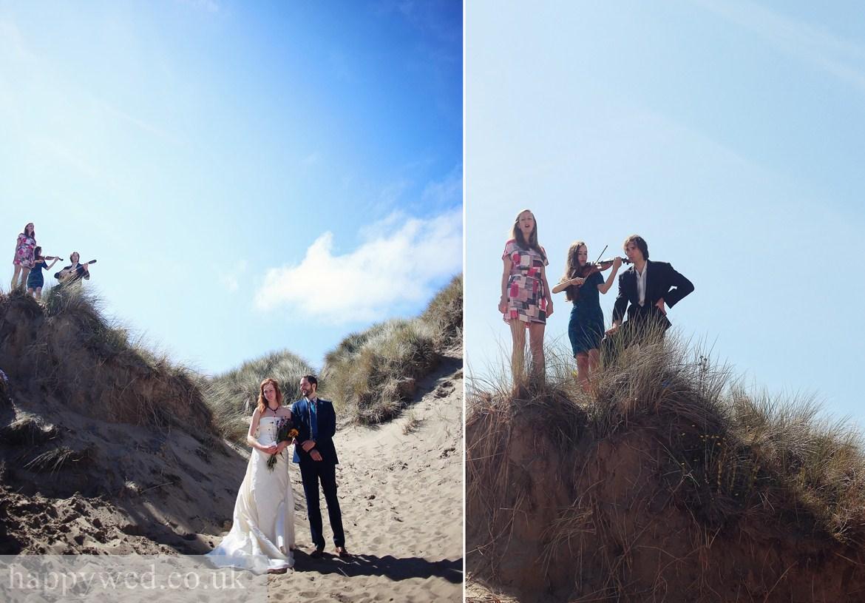 ynyslas national nature reserve beach wedding