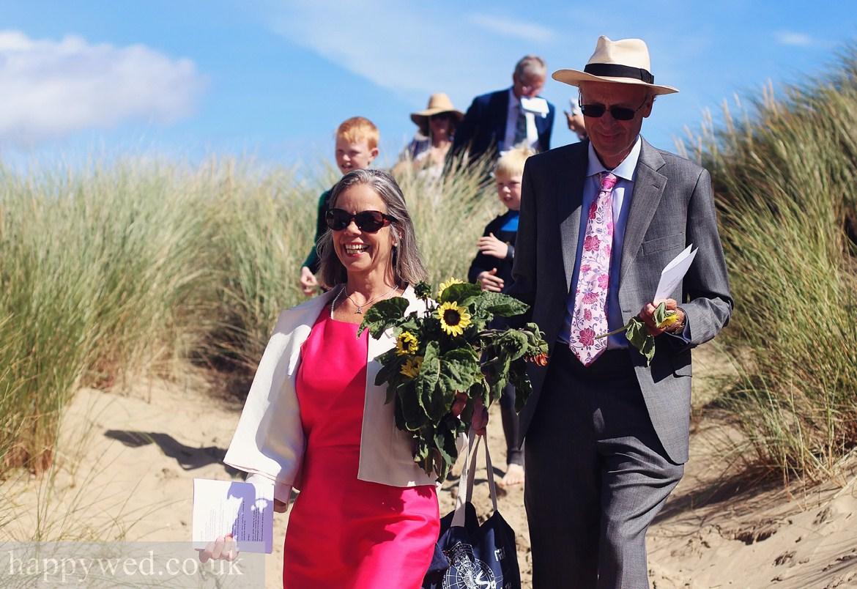 Ynyslas Sand Dunes wedding