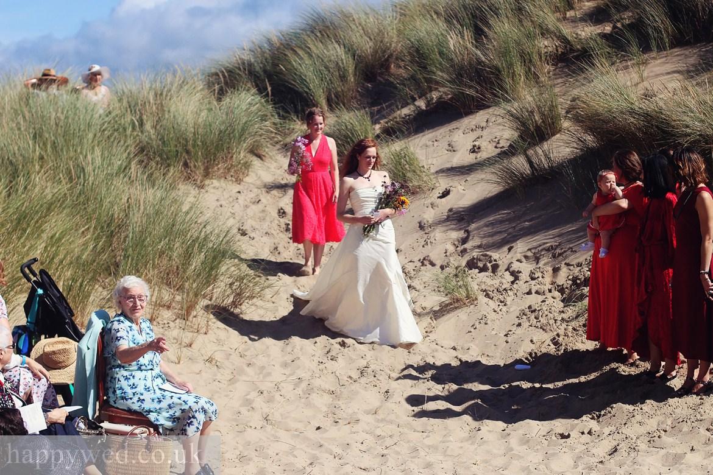ynyslas national nature reserve beach wedding photographs