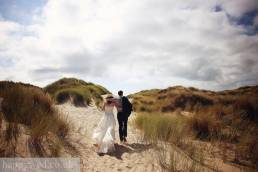 wedding photographs ynyslas national nature reserve