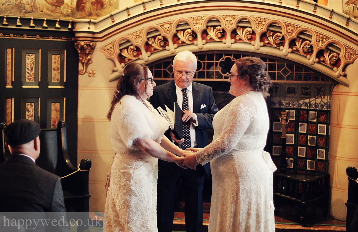 Castell Coch Cardiff marriage ceremony