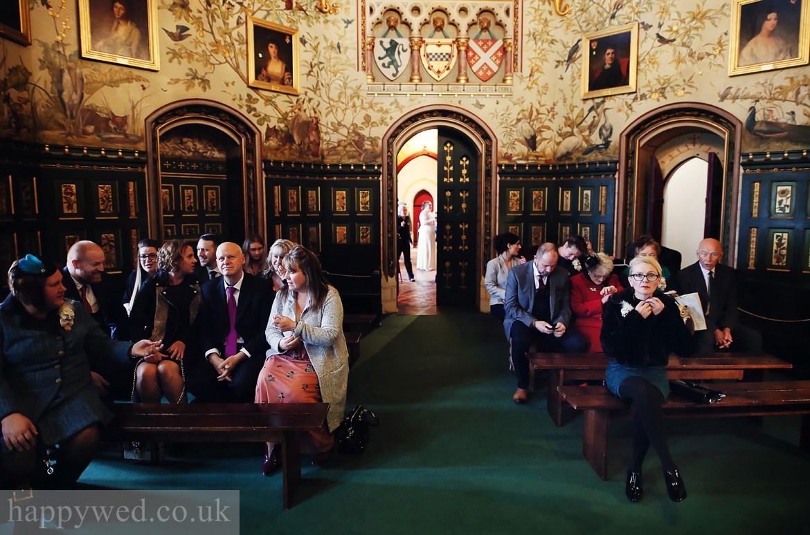 Castell Coch Cardiff ceremony room