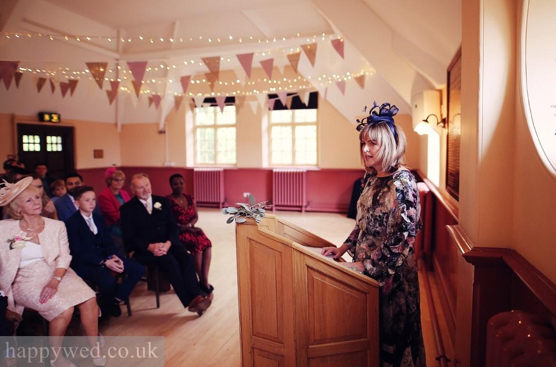 Oakdale Workmens Institute St Fagans wedding