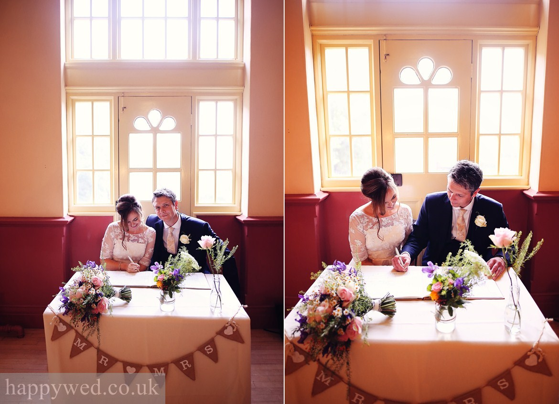Oakdale Workmens Institute wedding photographer