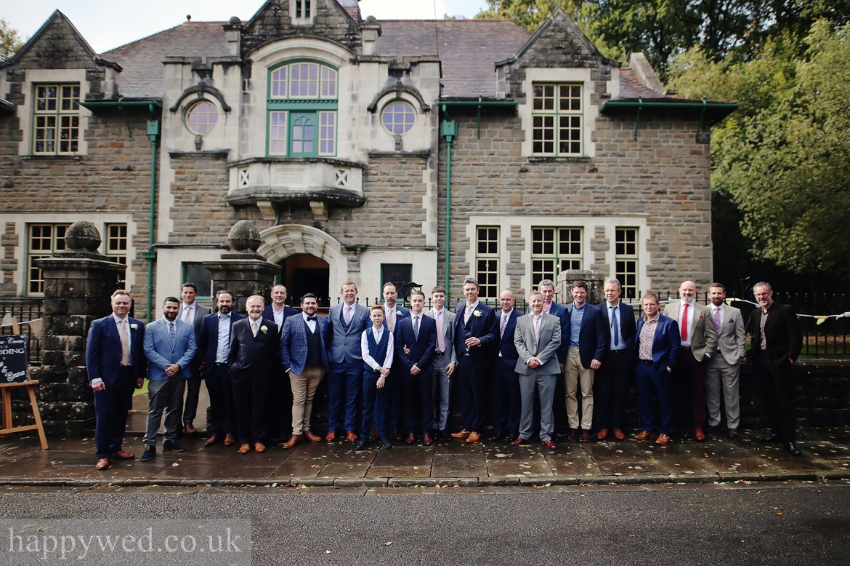 Oakdale Workmens Institute wedding photos