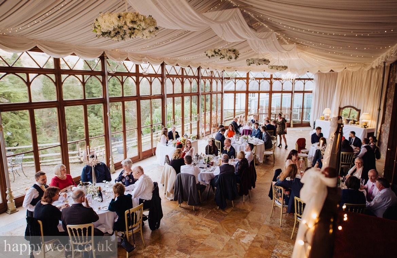 wedding photography at Craig y nos Castle Swansea