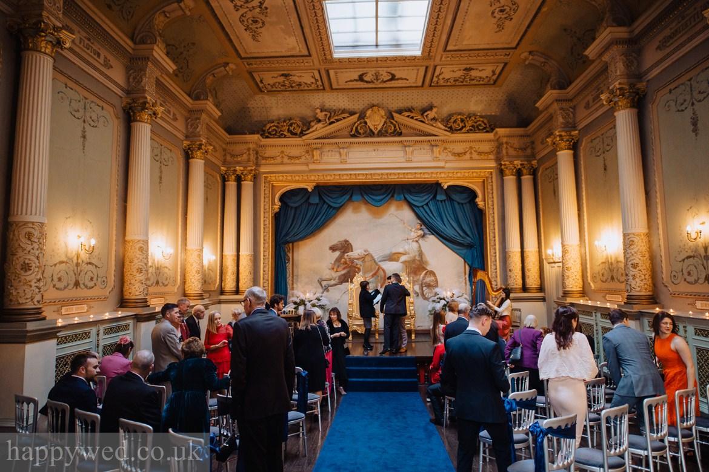 Craig y nos Castle wedding ceremony