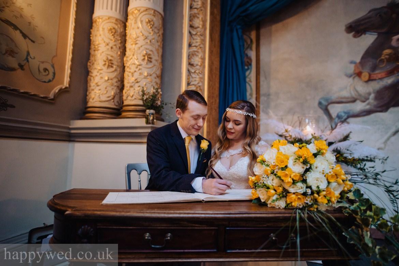 Craig y nos Castle wedding photography
