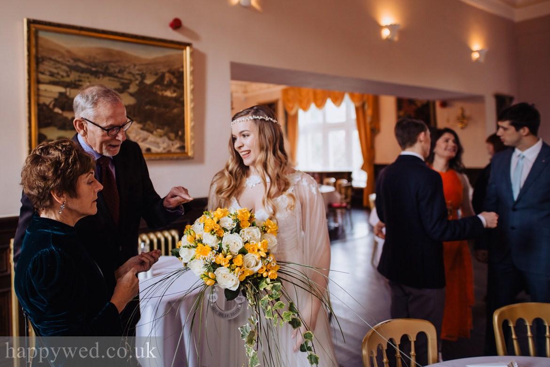 wedding photos Craig y nos Castle Swansea