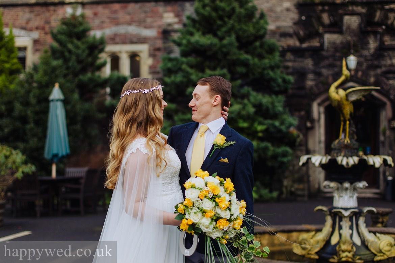 wedding photographer Craig y nos Castle Swansea