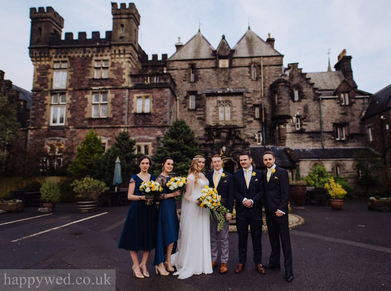Craig y nos Castle wedding photographs