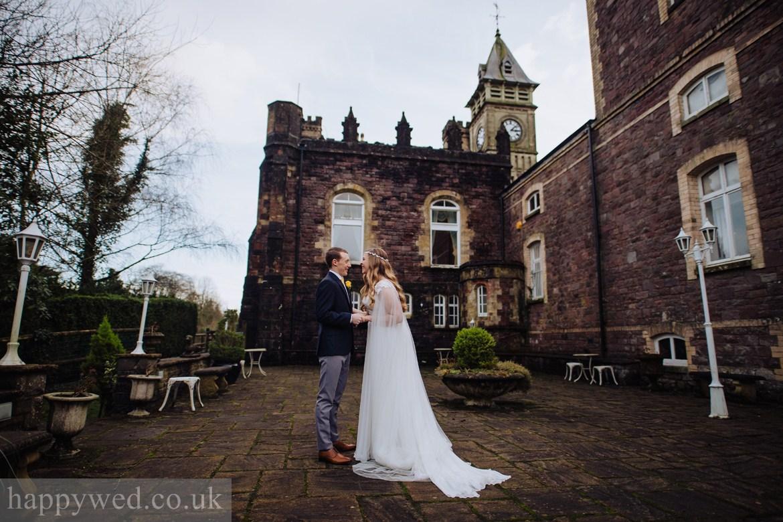 Craig y nos Castle wedding photographer South Wales
